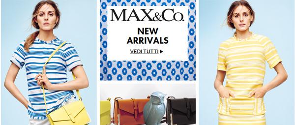 Max&Co: официальный сайт. Доставка из Италии