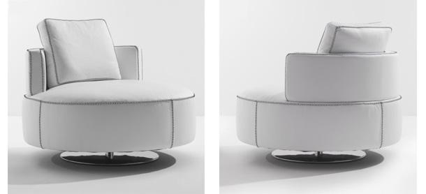 Кресло De Havilland круглое