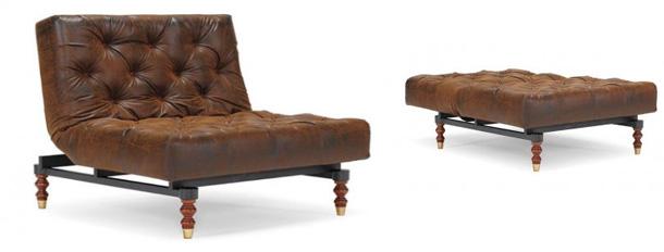 Викторианское раскладное кресло Oldschool Chair