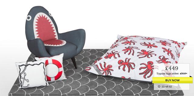 кресло-акула Rodnik Shark Fin Chair