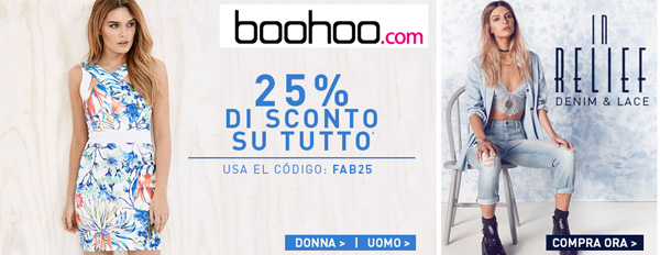BOOHOO: доставка с официального сайта в Ваш город