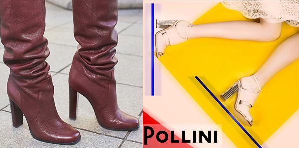 Обувь Pollini с официального сайта в Италии с доставкой по РФ