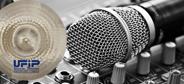 Купите тарелки UFIP и другие музыкальные инструменты в Италии