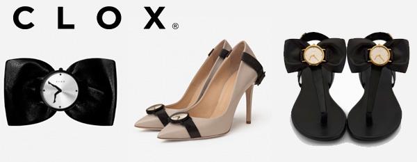 Туфли с часами Clox из Хорватии: купите на официальном сайте!