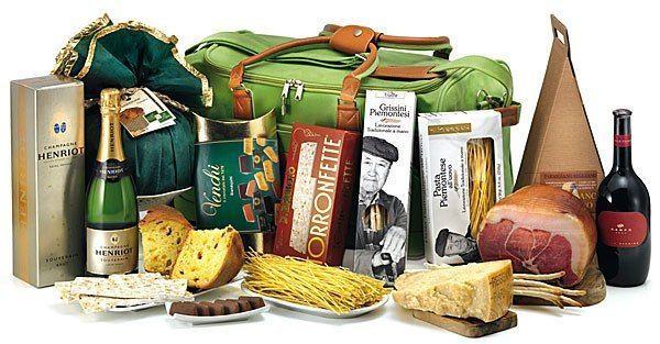 Доставка продуктов питания из Италии