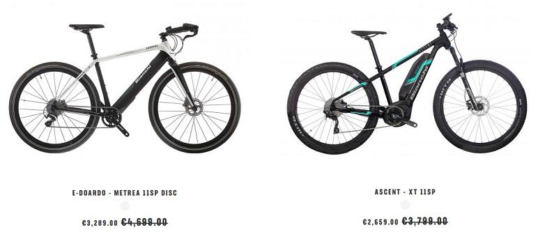 Электровелосипеды Bianchi из Германии