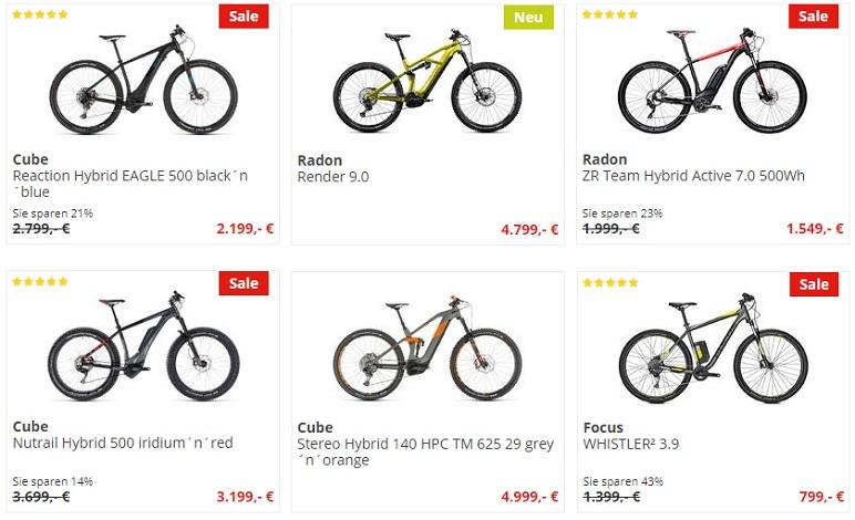 Электровелосипед из Германии в интернет-магазине BikeDiscount