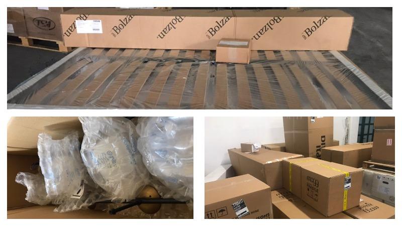Фото-отчет со склада в Италии