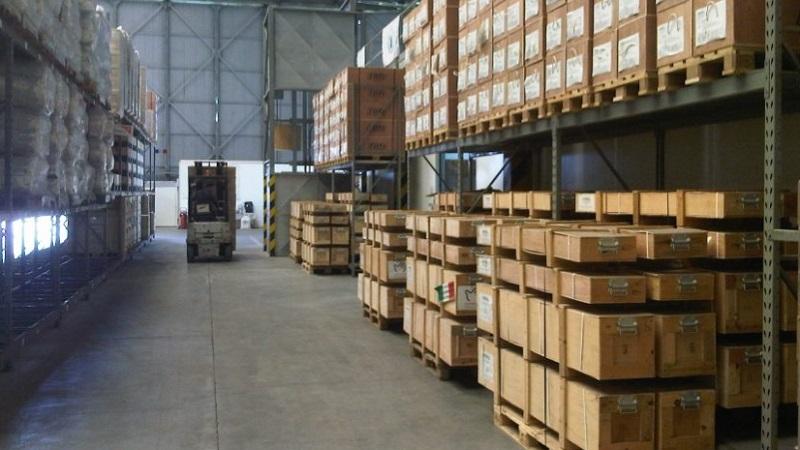 Хранение и доставка груза со склада
