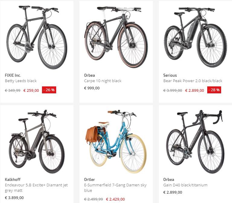 Купить велосипед в Европе
