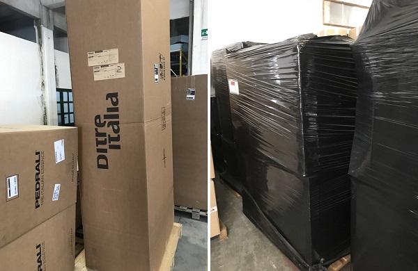 Как доставить мебель из Италии